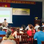 """Khai giảng lớp """"Kỹ thuật trồng và chăm sóc Lan Dendrobium và Mokara cắt cành ứng dụng công nghệ cao""""."""