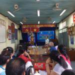 """LỄ KHAI GIẢNG LỚP """"SẢN XUẤT RAU THEO HƯỚNG HỮU CƠ""""  tại xã Phạm Văn Cội, huyện Củ Chi."""